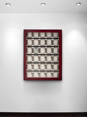 Cutie de depozitare Rothenschild RS-1100-30BU pentru 30 ceasuri
