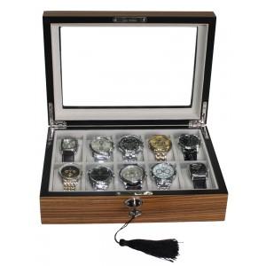Cutie de depozitare Rothenschild RS-1087-10Z pentru 10 ceasuri