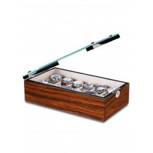 Cutie de depozitare Rothenschild Chicago RS-5072-RSW pentru 12 ceasuri
