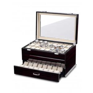 Cutie de depozitare Rothenschild Exclusive Line RS-5073-MCS pentru 72 ceasuri