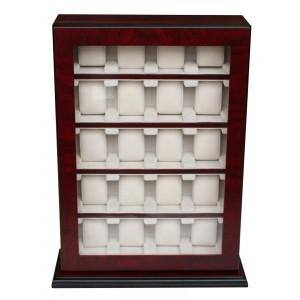 Cutie de depozitare Rothenschild RS-1100-20BU pentru 20 ceasuri