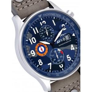 Ceas barbatesc AVI-8 Hawker Hurricane AV-4011-08 Chrono