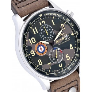 Ceas barbatesc AVI-8 Hawker Hurricane AV-4011-09 Chrono
