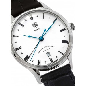 Mens watch DuFa Weimar DF-9006-02 GMT