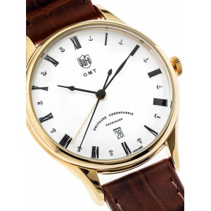 Mens watch DuFa Weimar DF-9006-03 GMT
