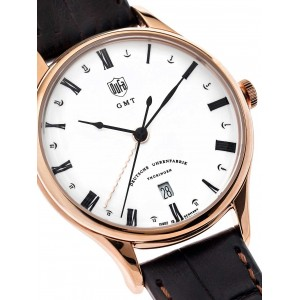 Mens watch DuFa Weimar DF-9006-04 GMT