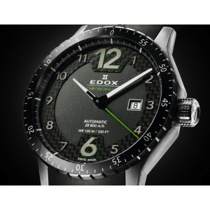 Ceas barbatesc Edox Chronorally 1 Automatic 80094 3N NV