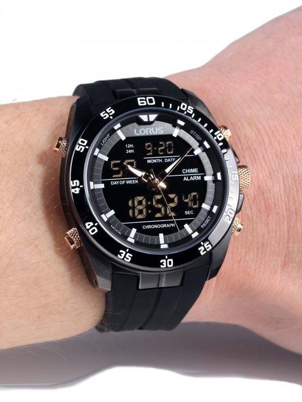 57bba98c6 Mens watch Lorus Analog-Digital Chrono RW615AX9