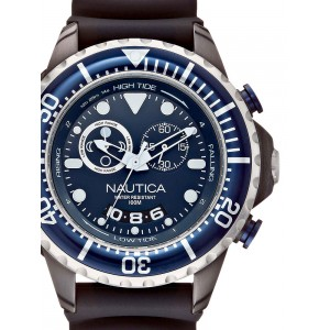 Mens watch Nautica NMX 650 A32600G Tide Chrono