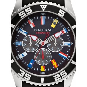 Mens watch Nautica NST 07 Flag A12626G Multifunction