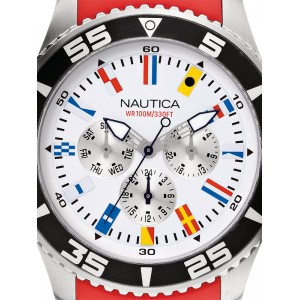 Mens watch Nautica NST 07 Flag A12628G Multifunction