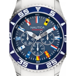Mens watch Nautica NST 07 Flag A12629G Multifunction
