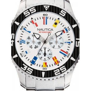 Mens watch Nautica NST 07 Flag A14630G Multifunction