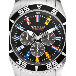Mens watch Nautica NST 07 Flag A14631G Multifunction