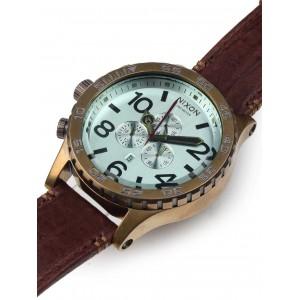 Mens watch Nixon 51-30 Chrono Leather A124-2223