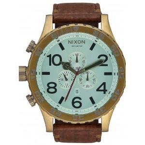 Ceas barbatesc Nixon 51-30 Chrono Leather A124-2223
