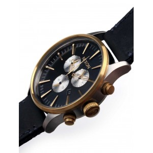 Ceas barbatesc Nixon Sentry Chrono Leather A405-1922