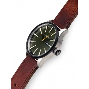 Mens watch Nixon Sentry Leather A105-2334