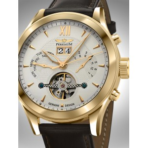 Mens watch Perigaum P-1112-IG-W-BRLE