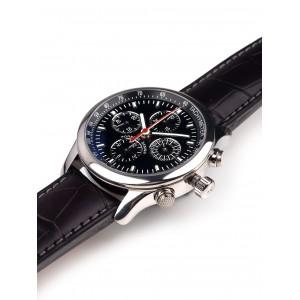 Mens watch Porsche Design P6613 Rattrapante 6613.12.40.1143
