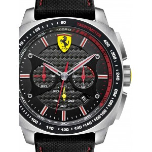 Mens watch Scuderia Ferrari Aero Evo 0830166 Chrono
