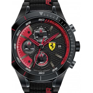 Mens watch Scuderia Ferrari Red Red Evo 0830260 Chrono