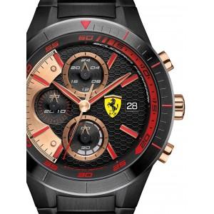 Mens watch Scuderia Ferrari Red Red Evo 0830305 Chrono