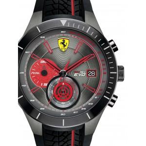 Ceas barbatesc Scuderia Ferrari Red Red Evo 0830341 Chrono