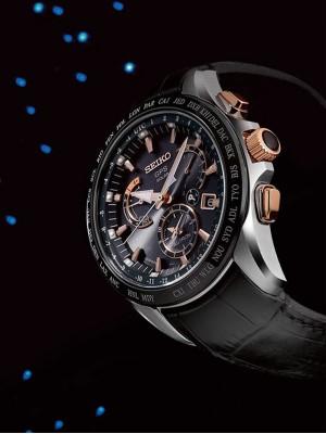 Ceas barbatesc Seiko Astron GPS Solar SSE061J1 Dual-Time