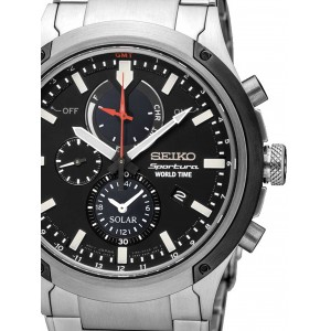 Mens watch Seiko Sportura SSC479P1 World-Time