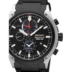 Mens watch Seiko Sportura SSC483P1 Chrono