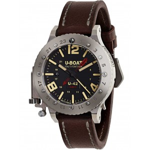 Mens watch U-Boat U-42 Titanium 8095 GMT