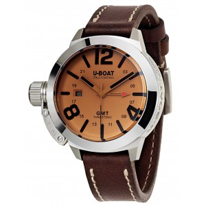 Mens watch U-Boat Classico Tungsteno 8051 GMT