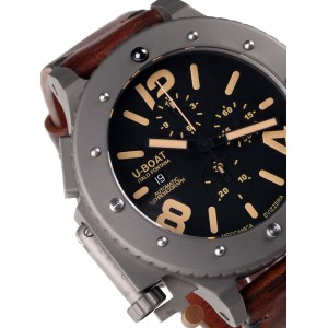 Mens watch U-Boat U-42 6475 Titanium Chrono