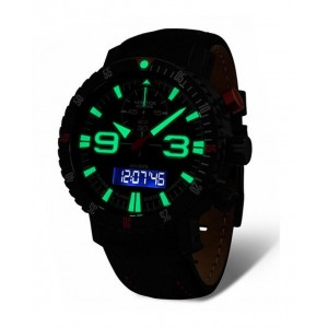 Mens watch Vostok Europe Mriya 5554250 Digital