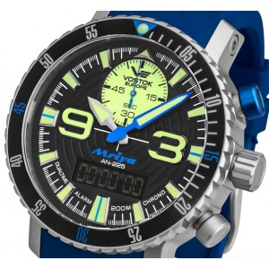 Mens watch Vostok Europe Mriya 5555249 Digital