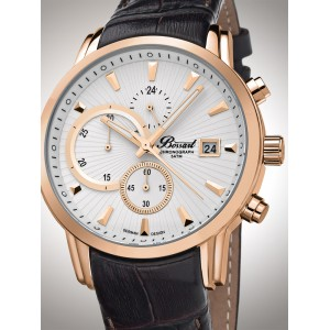 Mens watch Bossart BW-1104-IR-W-LE