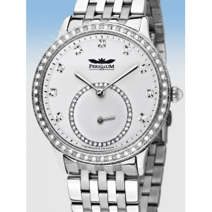 Ladies watch Perigaum Queen P-1311-AS-WH-BRC