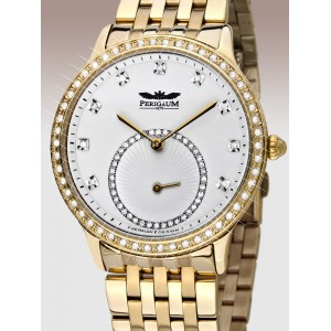 Ladies watch Perigaum Queen P-1311-IG-WH-BRC